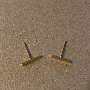 Gorjana Gold Bar Earrings